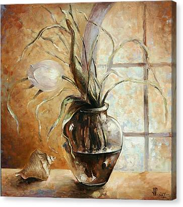 Contre Jour Canvas Print by Vali Irina Ciobanu