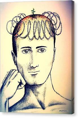 Control Of Intellectual Property Canvas Print by Paulo Zerbato