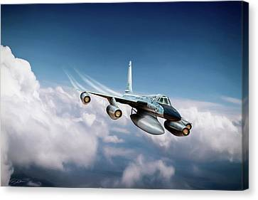 Convair B-58 Hustler Canvas Print by Peter Chilelli