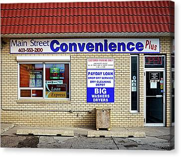 Canvas Print featuring the photograph Convenient Money Laundering by Trever Miller