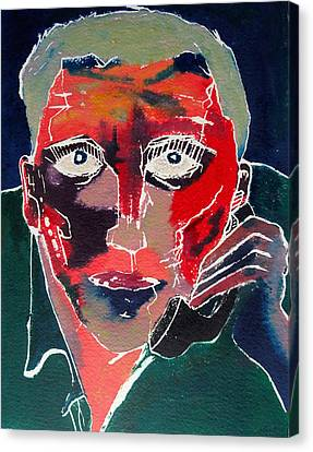 Conversation Canvas Print by David Studwell