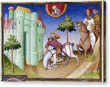 Conversion Of Saint Paul Canvas Print