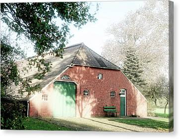 Converted Barn In Lower Saxony Canvas Print