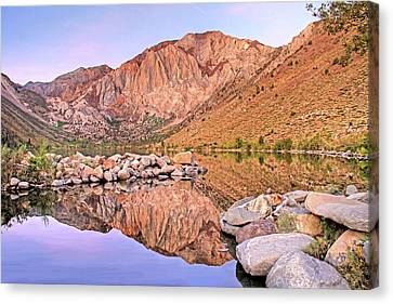 Canon 7d Canvas Print - Convict Lake by Donna Kennedy