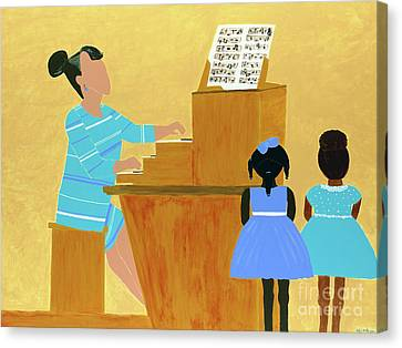 African-americans Canvas Print - Convocation by Kafia Haile