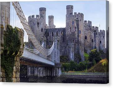 Conwy Castle - Wales Canvas Print by Joana Kruse