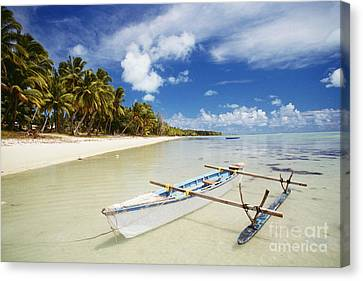 Cook Islands, Aitutaki Canvas Print by Bob Abraham - Printscapes