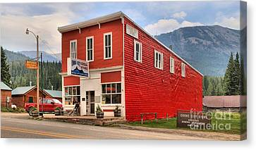 Cooke City Store Canvas Print
