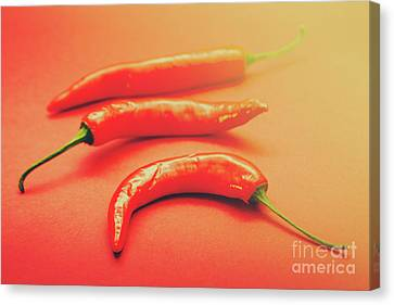 Cooking Pepper Ingredient Canvas Print