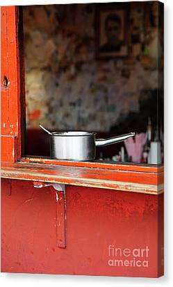 Cooking Pot Canvas Print by Jasna Buncic
