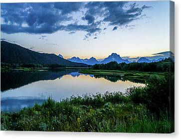 Canvas Print - Cool Evening by Ric Schafer