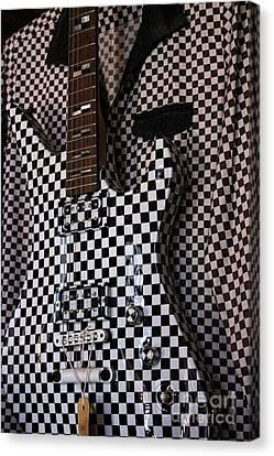 Canvas Print - Cool Guitar by Paulette Thomas