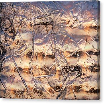 Canvas Print featuring the photograph Cool Ice by Sami Tiainen