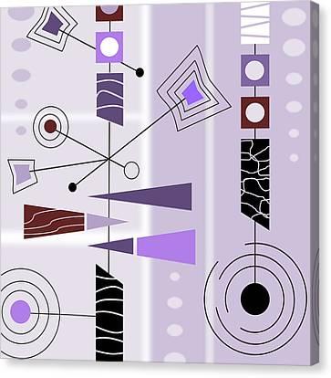 Cool New Purple Canvas Print