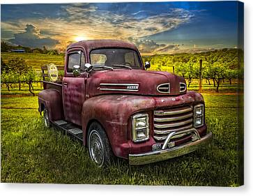 Cool Old Ford Canvas Print