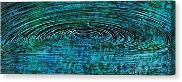 Canvas Print featuring the mixed media Cool Spin by Sami Tiainen