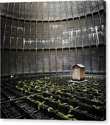 Canvas Print featuring the photograph Cooling Tower Petit Maison by Dirk Ercken