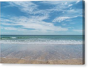 Coonah Waves Canvas Print