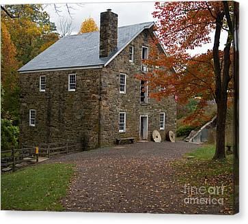 Cooper Mill Fall Canvas Print by Robert Pilkington