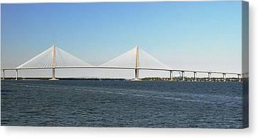 Cooper River Bridge Canvas Print by John Black