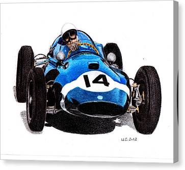 Cooper T51 Stirling Moss 1959 Canvas Print by Ugo Capeto