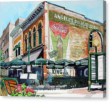 Fort Collins Canvas Print - Coopersmith's Again by Tom Riggs