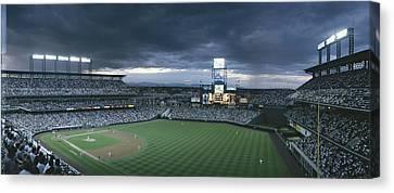 Coors Field, Denver, Colorado Canvas Print by Michael S. Lewis
