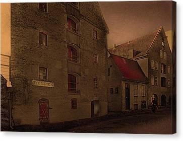 Canvas Print featuring the photograph Copenhagen-city by Jeff Burgess