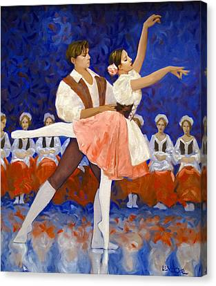 Coppelia Canvas Print by Kevin Lawrence Leveque