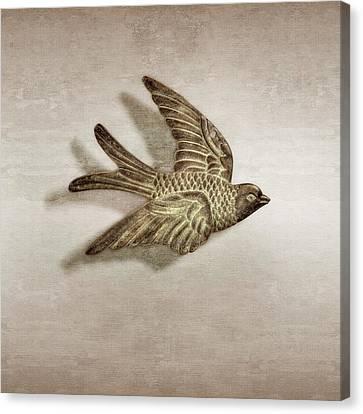 Chimes Canvas Print - Copper Bird by YoPedro