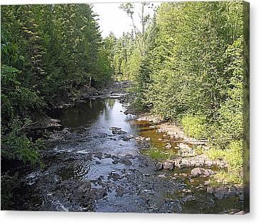 Copper Falls  River Canvas Print