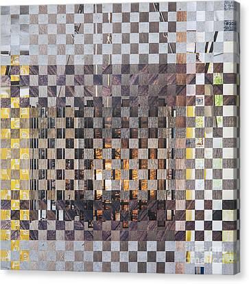 Copper Glow Canvas Print by Jan Bickerton