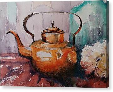 Copper Kettle Canvas Print