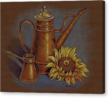 Copper Kettle Canvas Print