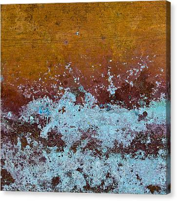 Copper Patina Canvas Print by Carol Leigh