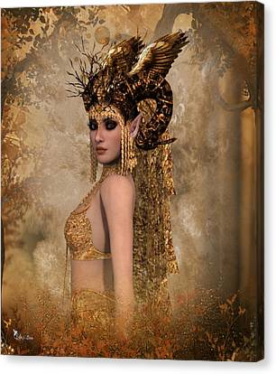 Copper Queen Canvas Print
