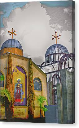 Coptic Church Rebirth Canvas Print