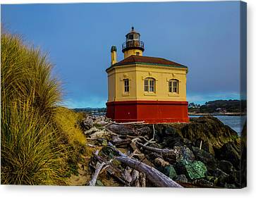Coquille River 2 Lighthouse Canvas Print