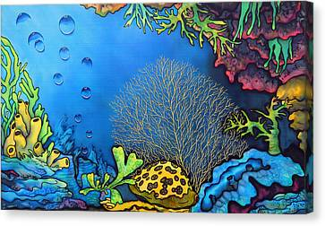Coral Reef Canvas Print by Ursula Schroter