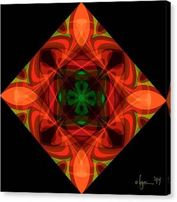 Core Canvas Print by Angela Treat Lyon