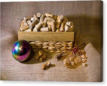 Corks And Ball Canvas Print