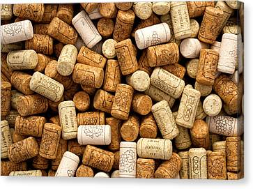 Corks Canvas Print by Rob Tullis