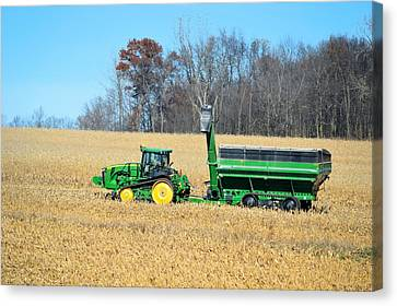 Corn Harvest Canvas Print by Bonfire Photography