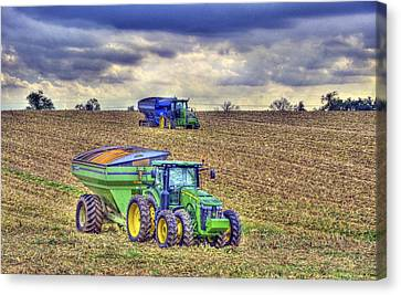 Corn Harvest No3 Canvas Print