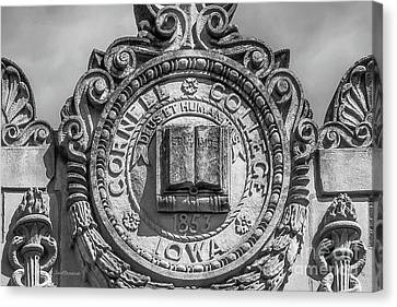 Cornell College Seal Canvas Print by University Icons