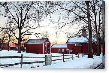 Corner Farm Canvas Print