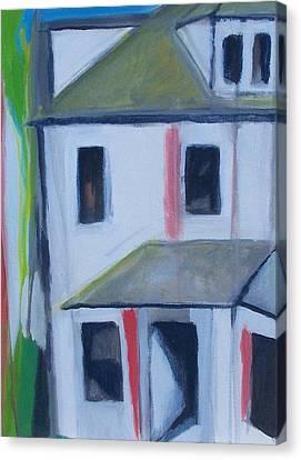 Corner House On Staten Island Canvas Print