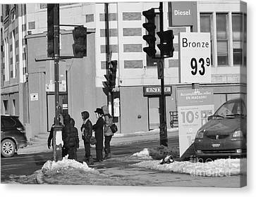 Corner Of The Street Canvas Print by Reb Frost