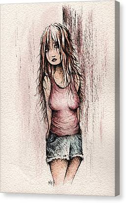 Cornered Canvas Print by Rachel Christine Nowicki