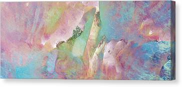 Cornerstone - Abstract Art Canvas Print by Jaison Cianelli